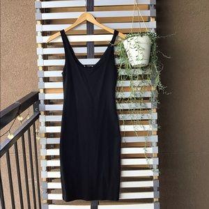 F21 Little Black Dress Bodycon
